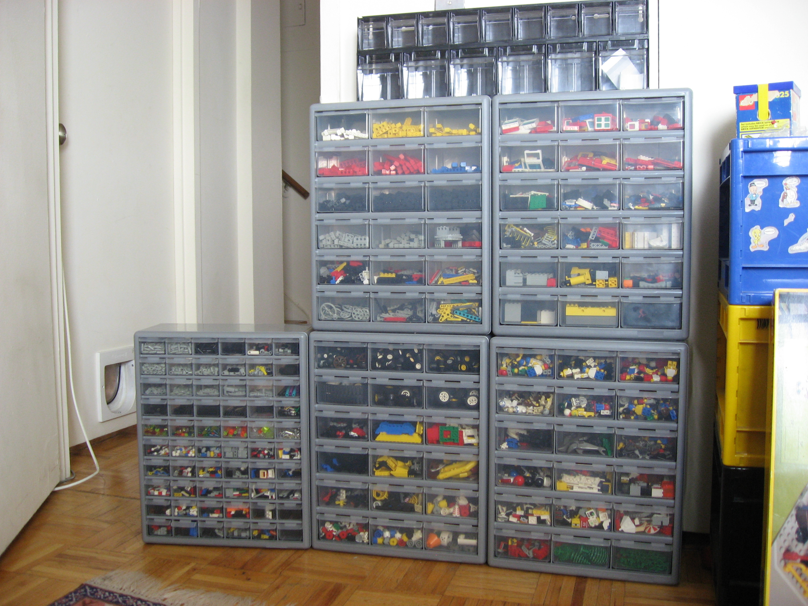 Lovely I Settled On The Following Storage Options: 7x Stack On 18 Drawer Cabinet  (Northern Tool) 1x Stack On 60 Drawer Cabinet (Northern Tool)